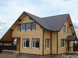 Строительство каркасных домов. Каркасный дом под ключ.