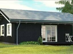 Строительство недорогих домов. Завершенное строительство.