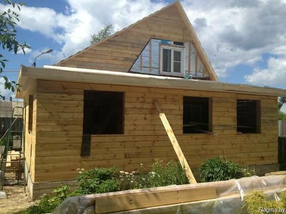 Строительство /ремонт Пристроек к дому выезд: Воложин и рн