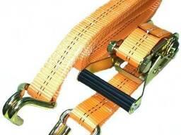 Стяжной ремень СРД для крепления груза 1,5т длинна любая