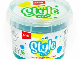 "Style Slime блестящий ""Морская волна с ароматом яблока"". .."