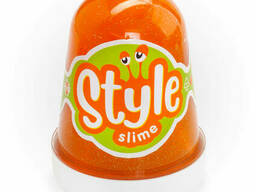 "Style Slime блестящий ""Оранжевый с ароматом апельсина"". .."