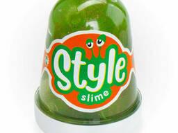 "Style Slime блестящий ""Зеленый с ароматом яблока"", 130мл."