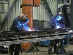Сварочные работы. Изготовление металлоконструкций.