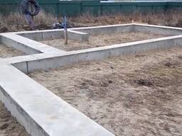 Свайно-ростверковый фундамент под ключ