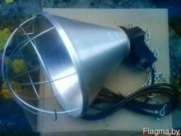 Светильник для инфракрасной лампы ИКЗК 250 и PAR 38 175 с ре