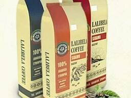 Свежеобжареный зерновой кофе Эфиопия, Уганда.