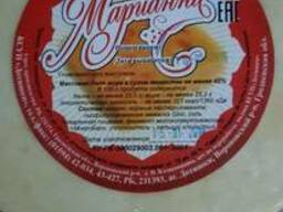 """Сыр полутвердый 45% жирность. Торговая марка """"Марианна"""""""