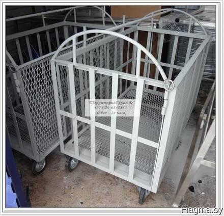 Тележка для транспортировки свиней р-р 1000х1500мм