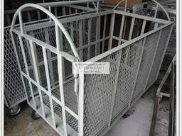 Тележка для транспортировки свиней р-р 1000х1500мм - фото 2