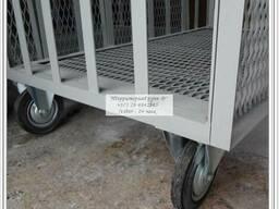 Тележка для транспортировки свиней р-р 1000х1500мм - фото 3