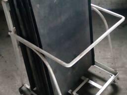 Тележка транспортировочная под противни шириной 600 мм