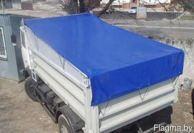 Тент автомобильный на самосвал, грузовик.