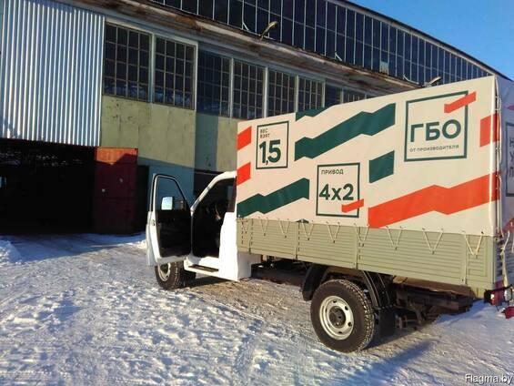 Купить тент в Минске автомобильный с полноцветной печатью