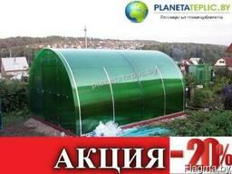 """Теплица из поликарбонатом Премиум """"Престиж"""" (0,64м) 3х8 м."""