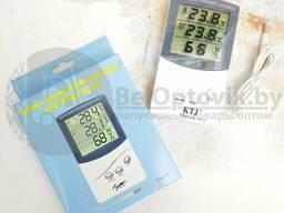 Термометр-гигрометр электронный Домашняя метеостанция ТА 318