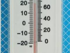 Термометр уличный с гигрометром, белый