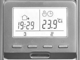 Терморегулятор для теплого пола E 51. 716 цвет серебро