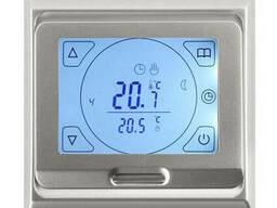 Терморегулятор для теплого пола E 91. 716 цвет серебро