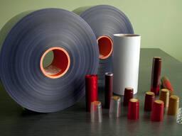Термоусадочная плёнка ПВХ для изготовления колпачков