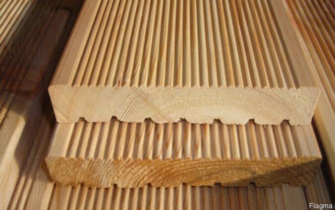 Террасная доска рифленая сорт АВ 28х140