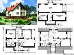 Типовые проекты домов, проект по вашему эскизу