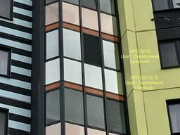Установка зеркальной пленки на окна и балконы Минск и Минская область