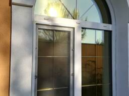 Тонировка зеркальной солнцезащитной пленкой окон, балконов, дверей, витрин Гомель
