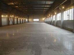 Топинговые полы или бетонные полы с упрочненным верхним слое