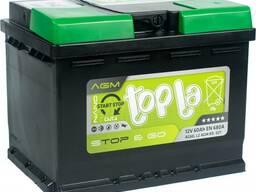 TOPLA AGM STOP&GO 60 Ah R