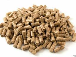 Топливные пеллеты (гранулы из хвойных пород древесины)