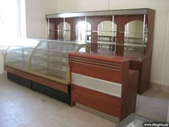 Торговое оборудование и мебель для магазинов, кафе, баров