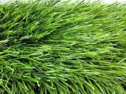Трава искусственная для футбола. высота ворса 40 мм