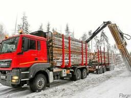 Требуются услуги лесовоза по доставке круглого леса