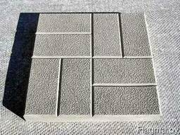 """Тротуарная плитка"""" 8 кирпичей"""""""