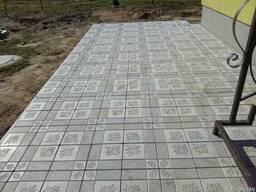 Тротуарная плитка, Бордюр, Крышки на забор.