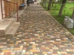 Тротуарная плитка (черепаха, клевер, старый город и проч. ) - фото 3
