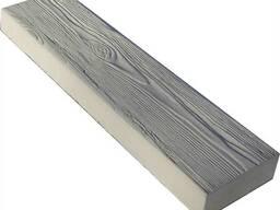 """Тротуарная плитка """"Доска карабельная"""" 60x15x5.5 см."""