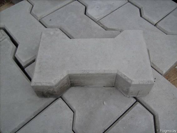"""Тротуарная плитка """" Катушка """", """"Кость"""", """"Бегатон"""" 6 см, 8см."""
