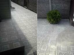 """Тротуарная плитка """"Кленовый лист"""""""