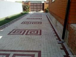 Тротуарная плитка под ключ