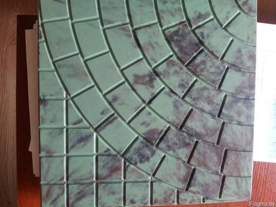 Тротуарная плитка вибролитьевая 300*300 мм, 400*400 мм