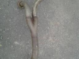 Труба глушителя приемная в сборе УРАЛ-375 (штаны)