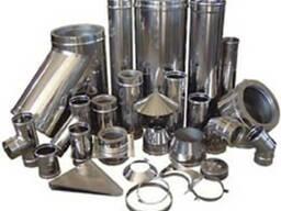 Трубы для дымоходов из нержавеющей сталли