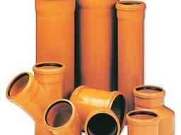 Трубы ПВХ канализационные и фитинги