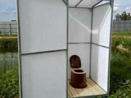 Дачный туалет. Полный комплект для сборки. Доставка по. . .