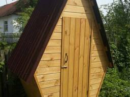 Туалет на дачу деревянный (дешево)