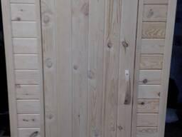 Туалет деревянный