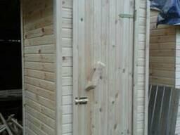 Туалет деревянный для дачи