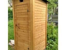 """Туалет для дачи из вагонки """"Пенал"""""""